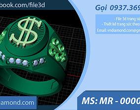 3D printable model MR-0000101 Men ring