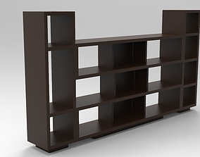 Bookcase 9 3D print model