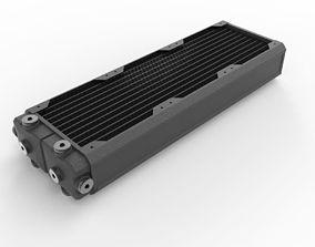 3D model Hardware Labs Black Ice SR2 360 MP Radiator