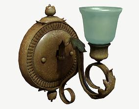 3D model Antique Wall Lamp