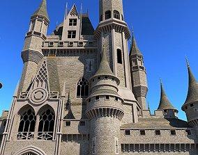 Castle 3D Model castle house