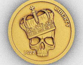 Coin 1 3D print model