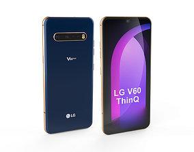 LG V60 Thin Q 3D asset