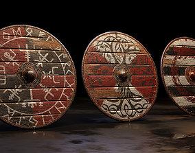 Viking Shield 3D shield