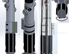 lightsaber 3D printable model Lightsaber