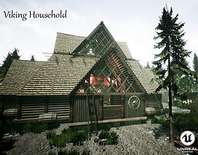 Viking Household Unreal Engine UE4 3D model