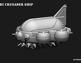 3D printable model Space Ship COLBRI