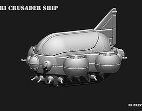 3D print model Space Ship COLBRI