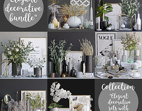 3D book Elegant decorative sets - 1