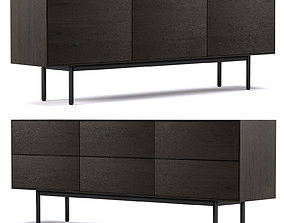 3D Seam Sideboard by Simon James
