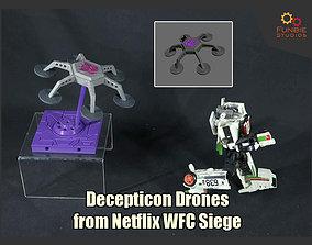 Decepticon Drones from Netflix 3D printable model 2