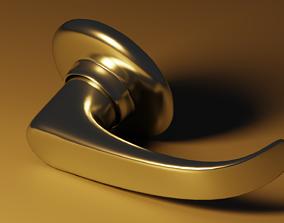 3D model game-ready Door Knob