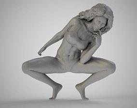 3D printable model Artistic Stance