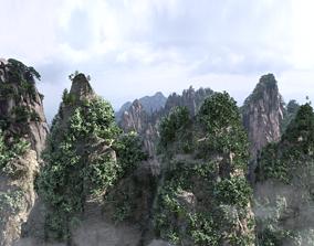 mountain peak 3D model