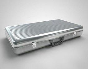 3D model Metal Aluminum Briefcase