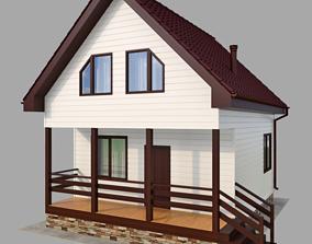 3D Frame house