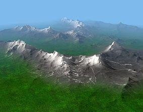 Rocky Mountains Landscape 3D