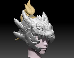 Mercy Dragoon Helmet 3D print Model