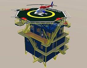 3D model Control building