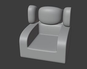 new type chair 3D printable model
