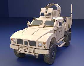 Oshkosh M-Atv Military Vehicle 3D low-poly