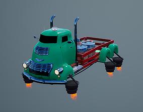 Flying jet truck 3D model