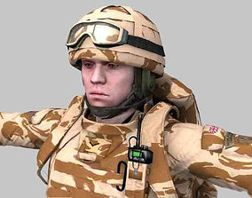 Royal Marine Ultimate Pack 3D model