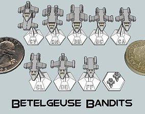 MicroFleet Betelgeuse Bandits Starship 3D printable model