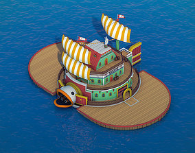 3D model Sanjis Baratie - One Piece