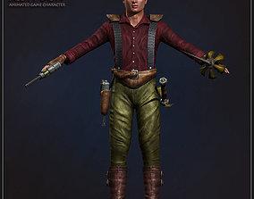 3D model Captain Scott Dow