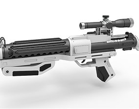 Blaster rifle F-11D from Star Wars The Force Awakens 3D