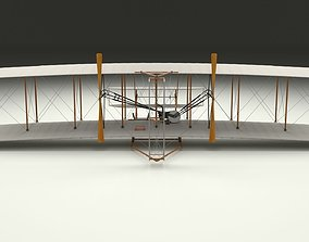 3D Wright Flyer 1903