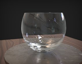 Glass Bowl 3D model VR / AR ready