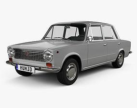 Fiat 124 1966 3D
