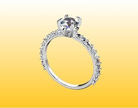 3d jewelry rings gem
