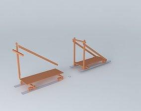 Klondike Sled 3D model