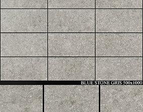 3D Grespania Coverlam Blue Stone Gris 500x1000