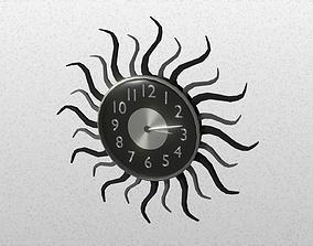 Modern clock 3D model