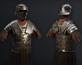 3D asset Lorica Segmentata Ancient roman legionary