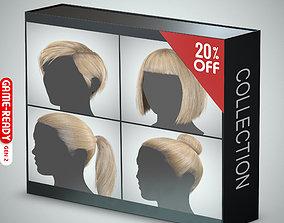 3D Hair - Pack A - Gen2
