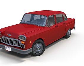 3D model Classic american sedan