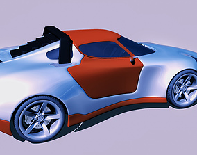 3D printable model Rally car