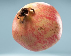 3D asset realtime Pomegranate