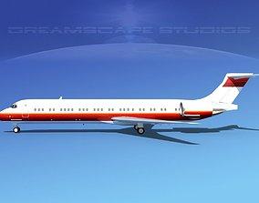 McDonnell Douglas MD-87 Corporate 12 3D
