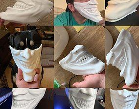 Joker Face mask The Bat who laughs 3D printable model 4