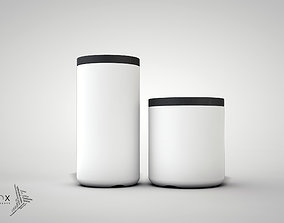 3D printable model ELEMENTs STORAGE JARs SET