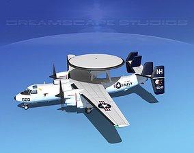 3D Grumman E-2C Hawkeye V14