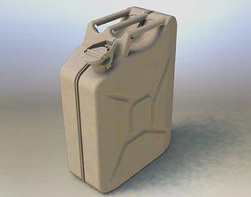 3D model Jerrycan 20 L
