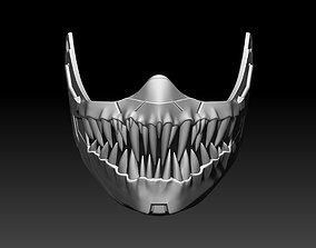 Kabal mask for cosplay Mortal Kombat 3D printable model 2