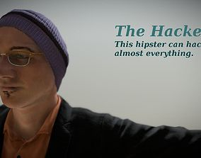 Free - The Hacker - Realistic Game Ready Human 3D